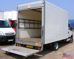 Oxford Removals Van Man-Luton Van