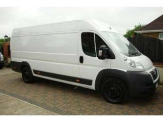 Oxford Removals Van Man-Long wheelbase van