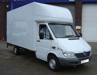 Oxford Removals Luton Van